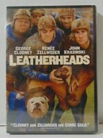 Leatherheads DVD Fullscreen SEALED 2008 George Clooney & Renee Zellweger