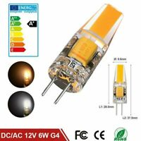 G4 COB LED Light Bulb AC DC 12V 6W Mini Lamp Bulb White Cold White High Power th
