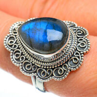 Large Labradorite 925 Sterling Silver Ring Size 9 Ana Co Jewelry R45036F