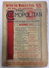 The Cosmopolitan December 1893 Vol XVI Vierge Reinhart Henckel PreownedBook.com