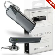 Plantronics Explorer 80 Bluetooth Wireless Headset, Music Stream,11 Hour Battery