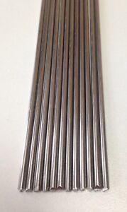 10 x Lengths Super6 2.4mm TIG Filler 316L Rod Welding Wire 33cm+ Long AWS 5.9 ER