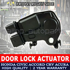 For Honda Door Lock Actuator Odyssey Accord Civic CR-V Element Acura Front Right