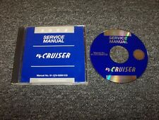 2002 Chrysler PT Cruiser Shop Service Repair Manual DVD Touring Limited GT 2.4L