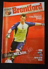 Brentford FC Vs Cheltenham Town 07-04-07  Program (P160)