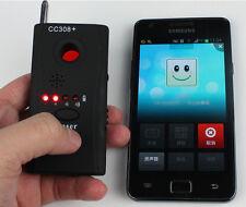 Hidden Camera Laser Lens GSM Device Finder Anti-Spy RF Signal Bug Detector