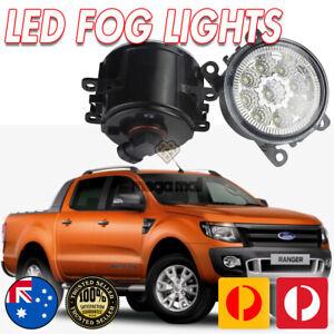 FORD RANGER FULL LED FOG LIGHTS / DRIVING LAMPS, 6000K, PX PX1 PX2