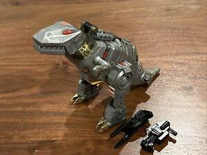 Vintage G1 Transformers Dinobot Grimlock w/Gun & Missile Launcher 1985 Hasbro