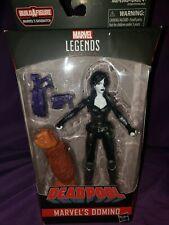 Marvel Legends Deadpool Sasquatch Series Domino MISB MIB New Sealed xmen x-force