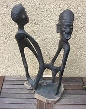 Makonde Figur (Ebenholz, Ebony) aus Tansania, African Art