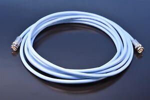 12' Ft. Milestek 30-02001 78 Ohm Twinaxial Cable & 2 TRB 3-slot Cable Plugs