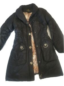 Two Women winter coats size 8.  One is new look.
