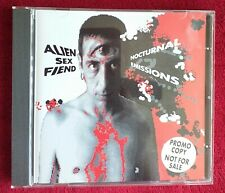 Nocturnal Emissions by Alien Sex Fiend | CD | condition very good, Promo Copy.