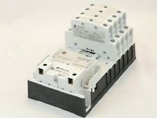 New General Electric CR463L80ANA 8 Pole 8NO 277v CR460B Lighting Contactor