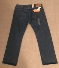 $59 Levis 501 Button Fly Original Fit Straight Leg  40X30 Style#005010193 NEW G1