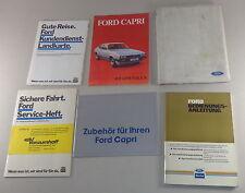Mappa di Bordo con Istruzioni D'Uso Ford Capri III Stand 11/1985