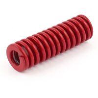Rojo mediano de prensa carga del muelle de compresion 16 mm x 8 mm x 50 mm N2H5