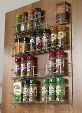 Étagère À Épices Fines Herbes Bocal Support Chrome 3 étages meuble cuisine porte Heavy Duty