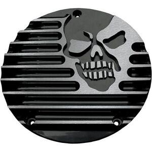 Derby Cover Covingtons Machine Head - Gloss Black Powdercoat C1074-B