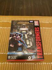 Transformers Studio Series 86 Deluxe Class JAZZ Action Figure Brand New