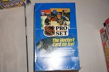 NHL PRO SET 1990 SERIES 1 NHL CARD BOX SET HOCKEY TRADING CARDS SEALED