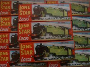 L206 Lone Star Locos - Die Cast Metal '000' Scale - Choose Type
