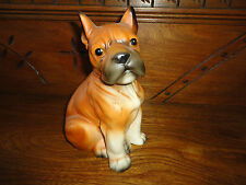 Kmart Canada Vintage 1960s-70s Porcelain BOXER Dog Statue Figurine Made Japan