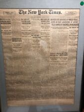 1930 January 8 NEW YORK TIMES Vintage? Antique? Display Piece