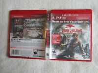 Dead Island - Game of the Year Edition (Sony PlayStation 3, Greatest Hits, 2012)