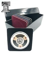 Air-tite Storage Box + 20 Coin Holder Velvet Display Card Case + Model I Capsule