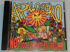 A Palo Seko - No Todo el Monte es Oregano - '98 OOP cd Spanish Punk La Polla