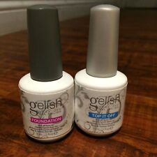 Gel Polish Gelish Soak-Off Foundation & Top It Off - Base & Top Coat 2x15 ml