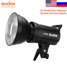 Godox Sl-60W 5600K Video Continuous Led Light Remote Control Us Russia Stock