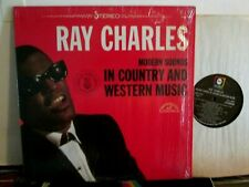 Ray Charles Lp in Shrink Ex In Country And Western Music
