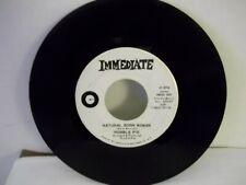 "Humble Pie,Immediate 001,""Natural Born Woman"",US,7"" 45, White PROMO labels,Mint-"