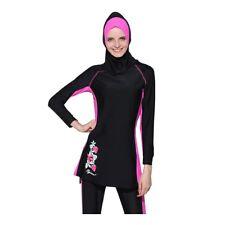 Islamic Womens Burkini Muslim Full Cover Costume Modest Swimwear Beach Swimming