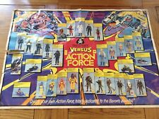 Action Force Figures Poster RARE - Battle Action Force, GI Joe, Action Man