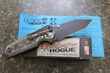 "NEW Hogue 34249 EX-02 Extreme Series 3.75"" Tanto Blade Folding Knife Black G10"