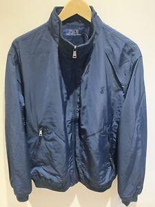 Ralph Lauren Windbreaker Sports Padded Jacket Camo /& Black Asian Size