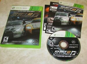 Need for Speed Shift 2: Unleashed for Xbox 360 Complete Fast Shipping!