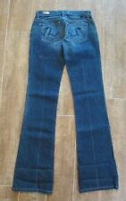 "27 "" Freedom Of Choice Women Size 4 Jeans denim 32"" boot leg Greenwich new"