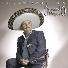 Gerardo Reyes 15 Zarpasos Cd Nuevo Sellado Nuevo