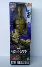 "MARVEL GUARDIANS OF THE GALAXY TITAN HERO SERIES GROOT 12"" ACTION FIGURE MIP"