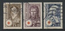 Finland - 1936, Red Cross set - Used - SG 309/11