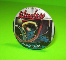 Vintage Original Badge THOMAS DOLBY 1980s Golden Age Of Wireless Cool Scarce