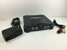 Nintendo 64 Console N64 with AC Adapter and Video Cable