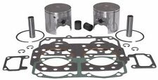New Pistons Top End Gasket Kit SkiDoo 800 MXZ Summit Adrenaline Gsx Sport Rev