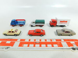 BV968-0,5 #6x wiking H0 / 1:87 Truck/Car : MB+ Hanomag + BMW + Ford Etc,Very Gut