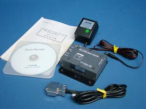 Micro Techno SR1300-50A Shock Vibration Acceleration Recorder Used