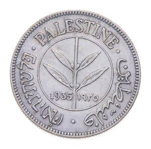 Better - 1935 Palestine 50 Mils *486